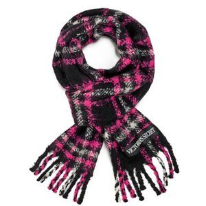 NWT VS Plaid Scarf Winter Angel Collection